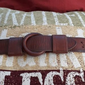 Vintage Abercrombie and Fitch Leather Belt